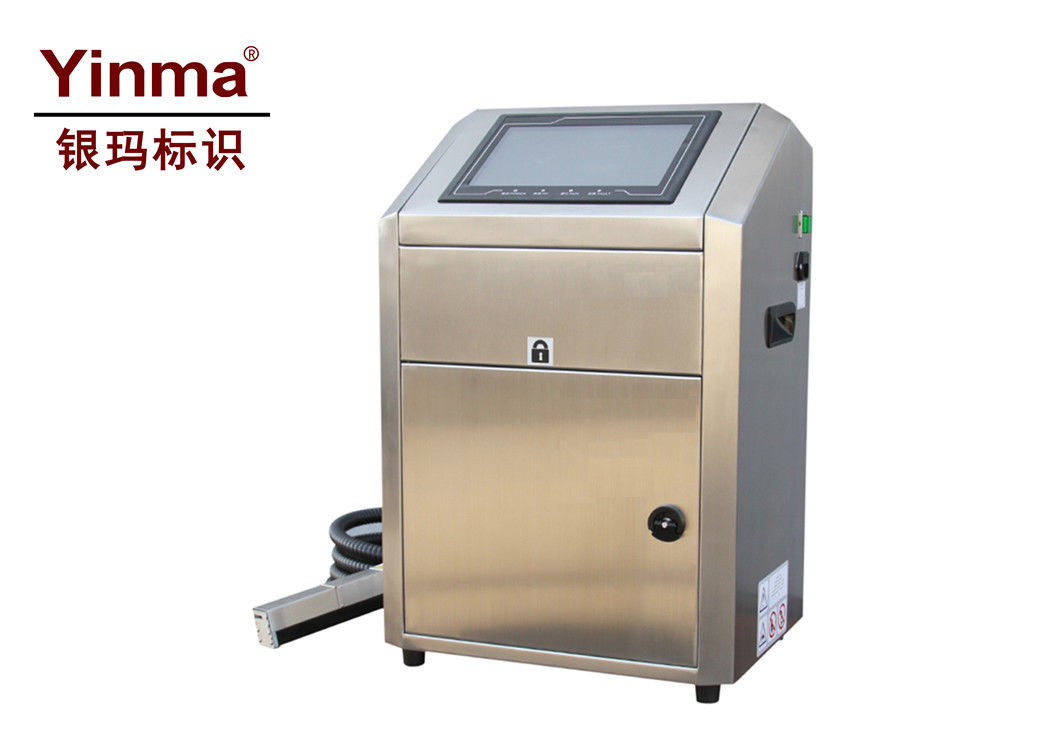 Automatic Date Coding Equipment , Continuous Inkjet Printer With Pigment Ink